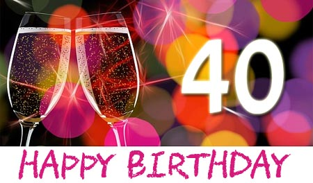 Whatsapp Gluckwunsche Zum 40 Geburtstag