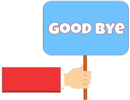 Goodbye Bild für WhatsApp