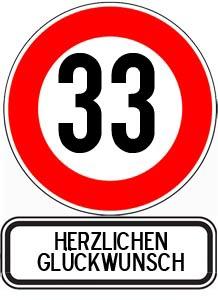 Sprche Zum 33 Geburtstag