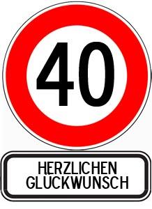 WhatsApp Gl?ckw?nsche zum 40. Geburtstag