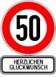 50. Geburtstag Wünsche