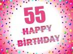 55. Geburtstag Sprüche