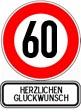 Wünsche zum 60.Geburtstag